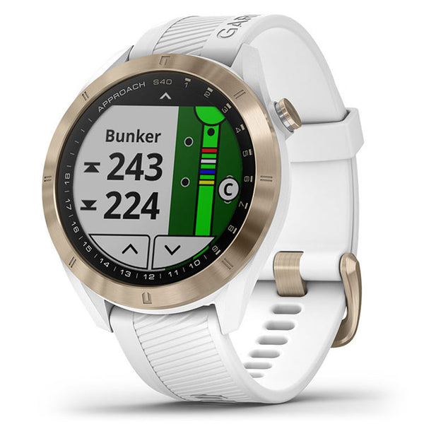 Garmin Approach S40 GPS Golf Watch  - White