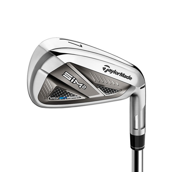 Taylormade SIM2 Max Golf Irons - Graphite - Left-Handed