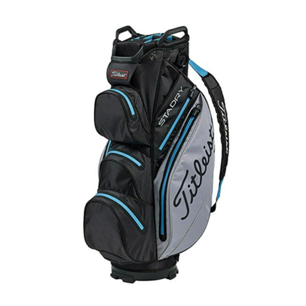 Titleist Stadry '19 Golf Stand Bag - Black/Sleet/Blue