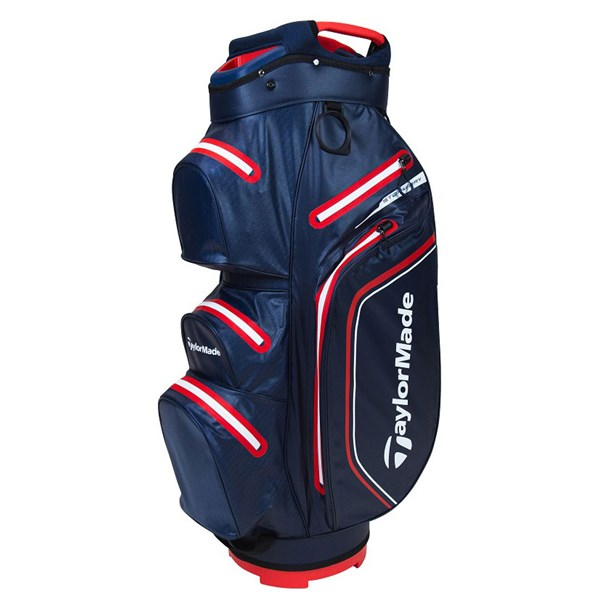 Taylormade StormDry Waterproof Golf Cart Bag - Navy/Red