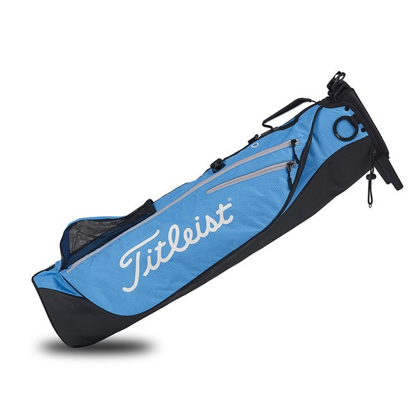 Titleist Sunday Premium Carry Pencil Golf Bag - Blue/Grey