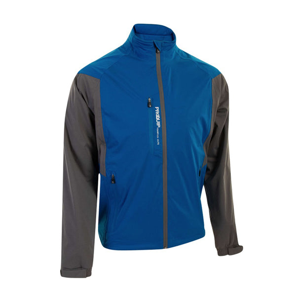 Proquip Tourflex Elite Waterproof Golf Jacket - Blue/Grey