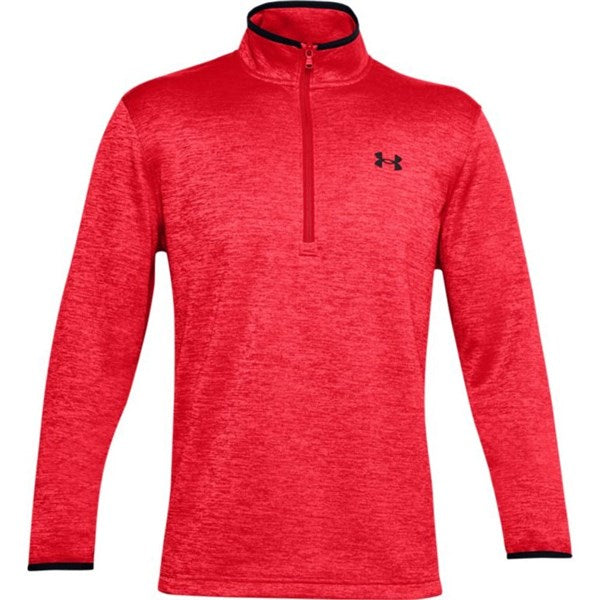 Under Armour 1/2 Zip Sweater Golf Fleece - Red