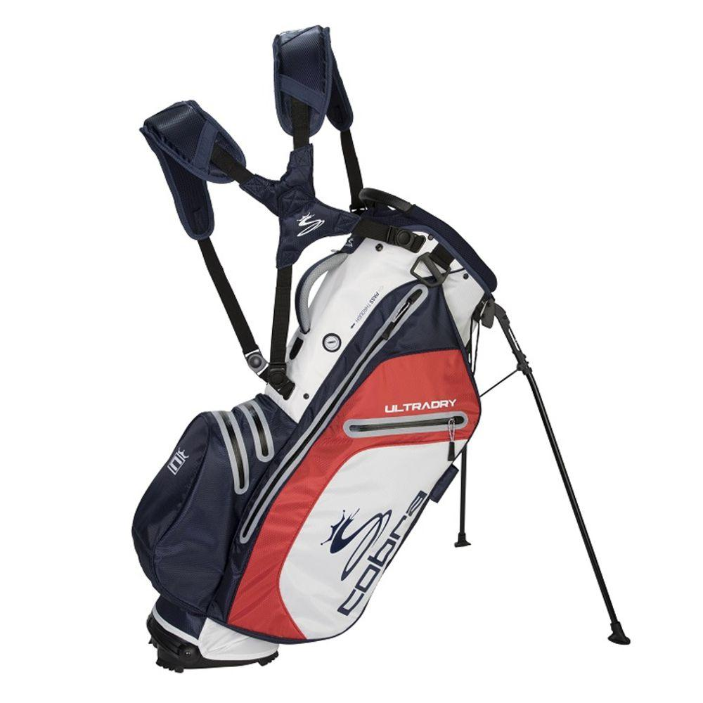 Cobra Ultradry Golf Stand Bag - Navy/White/Red