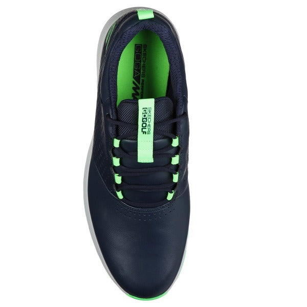 Skechers Go Golf Elite V4 Golf Shoes - Navy/Lime - Address