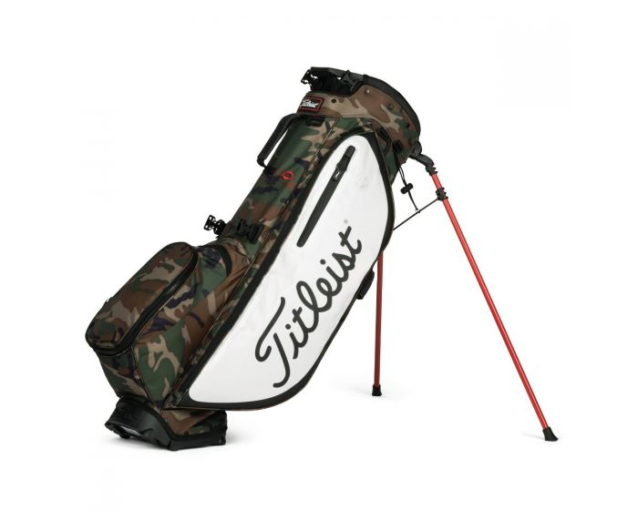 Titleist Players 4+ Limited Edition Golf Stand Bag - Woodland Camo