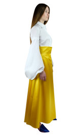 Yellow Duchesse Skirt