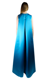 Turquoise Duchesse Dress