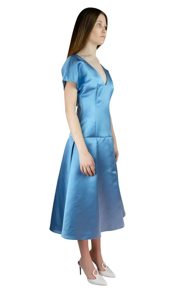 Light Blue Duchesse Dress
