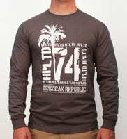 Hot Penguin, Ltd. 74 long sleeve shirt for men, Dominican Republic collection - Hot Penguin, Ltd.