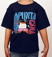 Hot Penguin Ltd. Surf Punta Cana t-shirt for kids, Punta Cana Collection - Hot Penguin, Ltd.