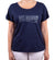 Hot Penguin, Ltd. Hot Mamma in Punta Cana t-shirt in navy blue, Punta Cana collection