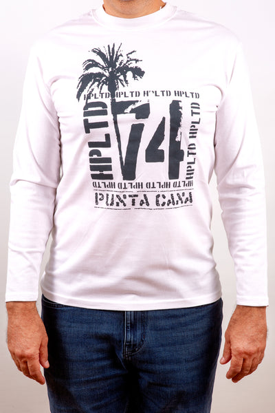 Hot Penguin Ltd. Punta Cana 74 long sleeve shirt for men, Punta Cana Collection - Hot Penguin, Ltd.
