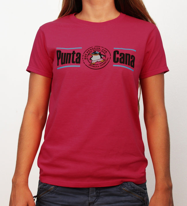 Hot Penguin, Ltd. with Punta Cana t-shirt for women, Punta Cana collection - Hot Penguin, Ltd.