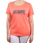 Hot Penguin, Ltd. Hot Mamma in Punta Cana t-shirt for women, Punta Cana collection - Hot Penguin, Ltd.