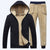 Mens Sherpa Fleece Hoodie and Sweatpant Set Mens Sherpa Fleece Hoodie and Sweatpant Set - Soo FluffyCLOTHING & ACCESSORIES Soo Fluffy Black / XXS - W26-28