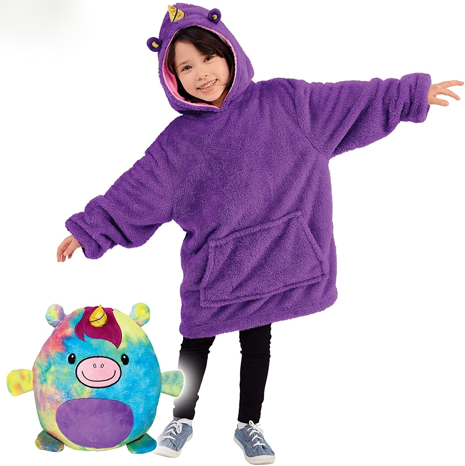 Soo Fluffy Blanket - Teddy Hoodie For Kids Soo Fluffy Blanket - Teddy Hoodie For Kids - Soo FluffyCLOTHING & ACCESSORIES Soo Fluffy