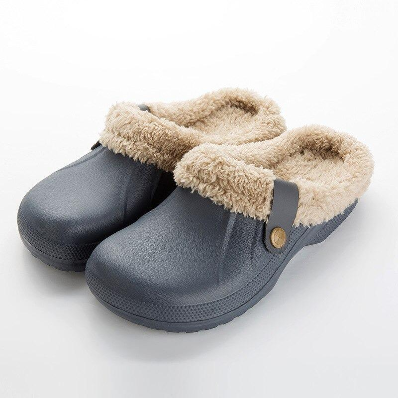 Classic Fur Lined Clogs Classic Fur Lined Clogs - Soo FluffySHOES Soo Fluffy Black / UK 4 / US 6 / EU 37