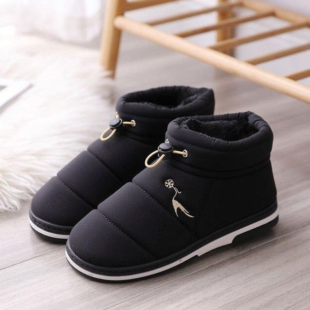 Soo Fluffy Puffer Ankle Boot Soo Fluffy Puffer Ankle Boot - Soo FluffySHOES Soo Fluffy Black / UK 3 / US 5 / EU 36