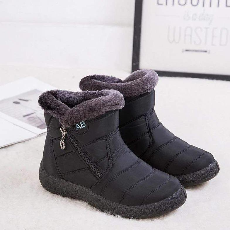 Mila Non-Slip Ankle Winter Boot (MID) Mila Non-Slip Ankle Winter Boot (MID) - Soo FluffySHOES Soo Fluffy