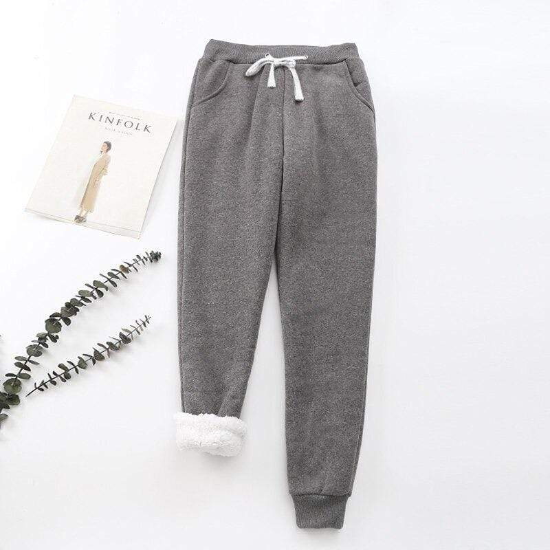 Extra Thick Sherpa Fleece Sweatpant Extra Thick Sherpa Fleece Sweatpant - Soo FluffyCLOTHING & ACCESSORIES Soo Fluffy Dark Grey / UK 6 / US 2 / EU 34
