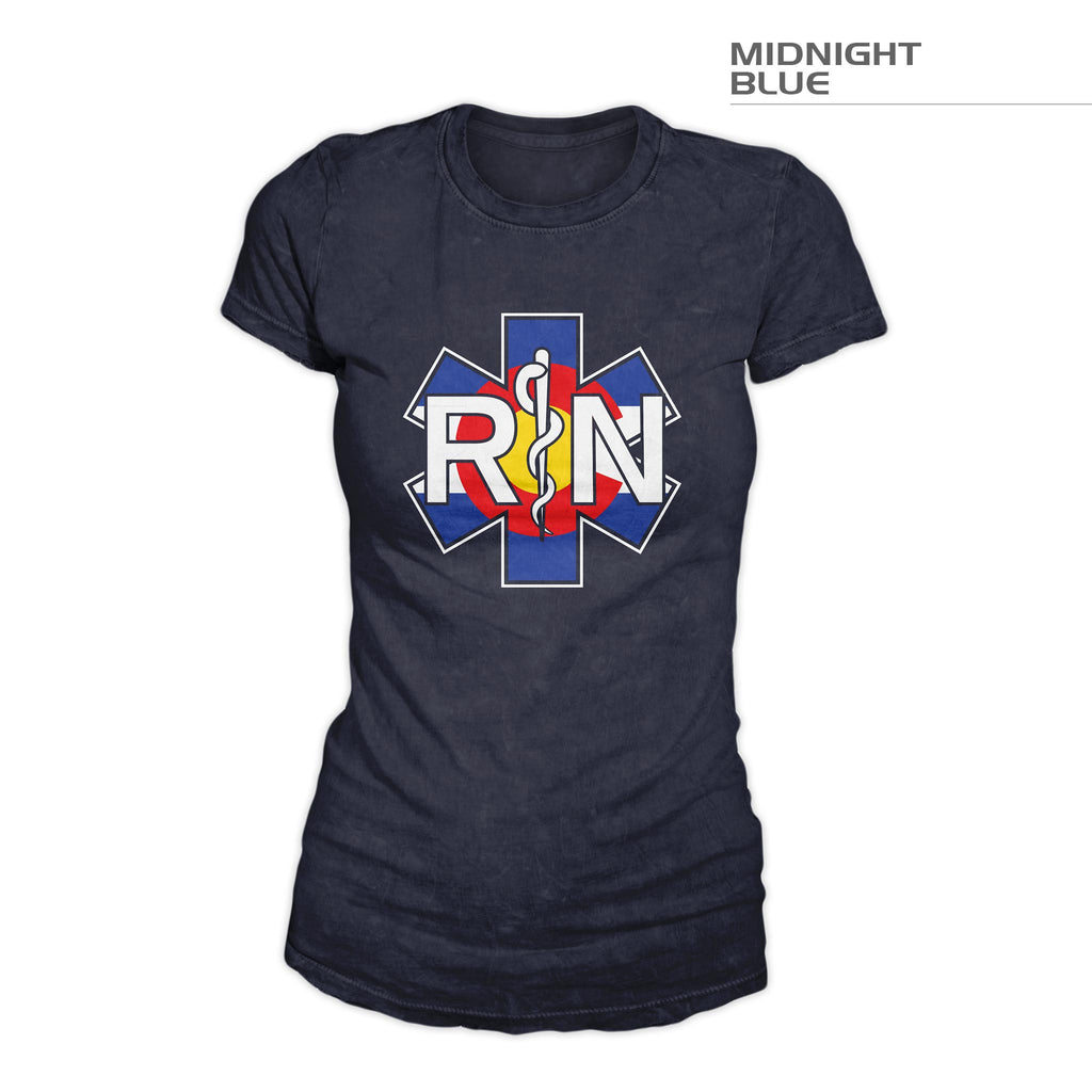 Women's Colorado RN Shirt – Midnight Blue
