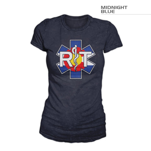 Women's Colorado Respiratory Therapist Shirt