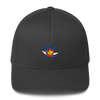 Colorado Flag Marijuana Leaf Hat Asphalt
