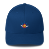 Colorado Flag Marijuana Leaf Hat Royal Blue