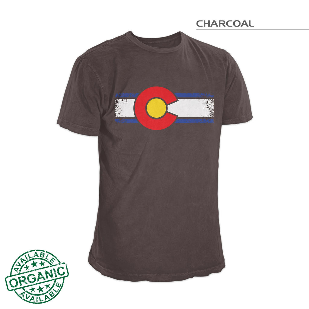 Colorado Flag Shirt Grung – Charcoal Gray