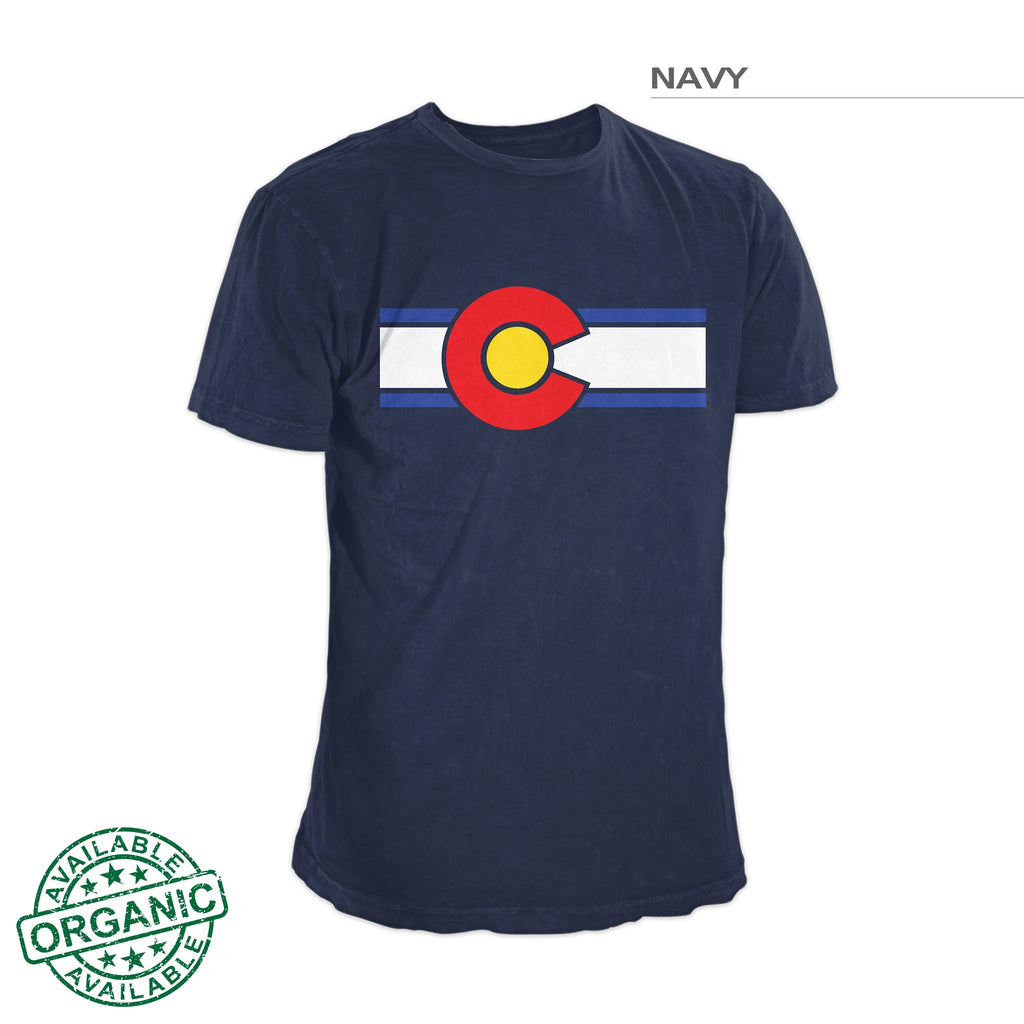 Colorado Flag Shirt – Navy