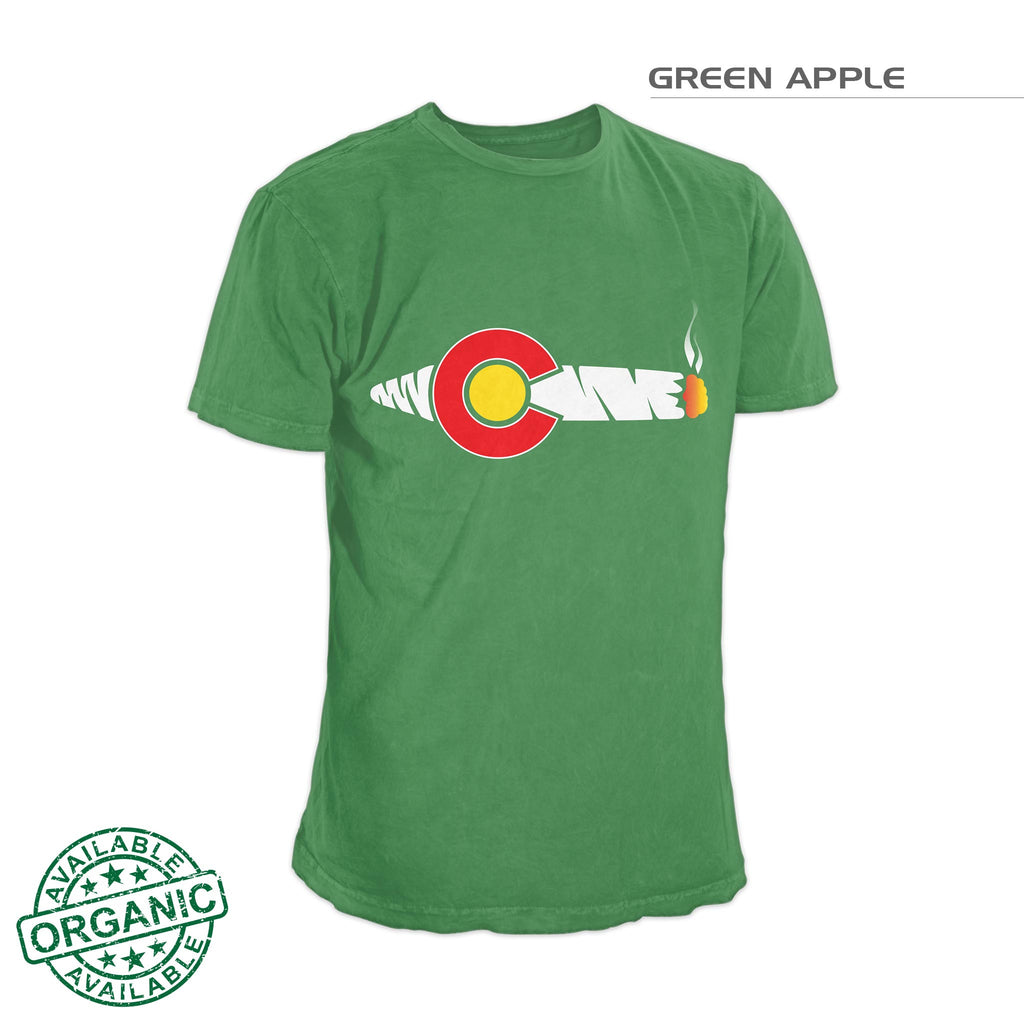 Colorado Flag Joing Shirt – Green Apple