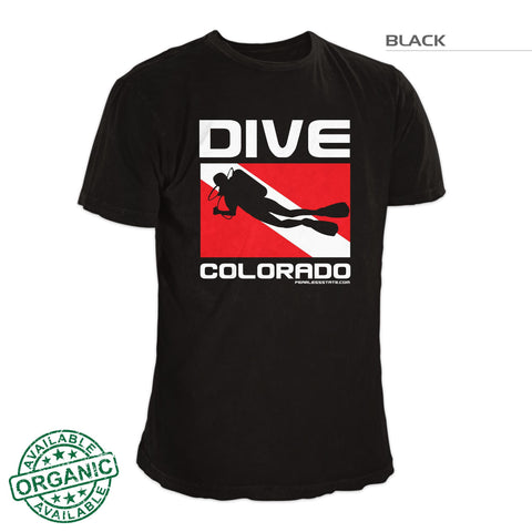 Colorado Scuba Dive Flag Shirt