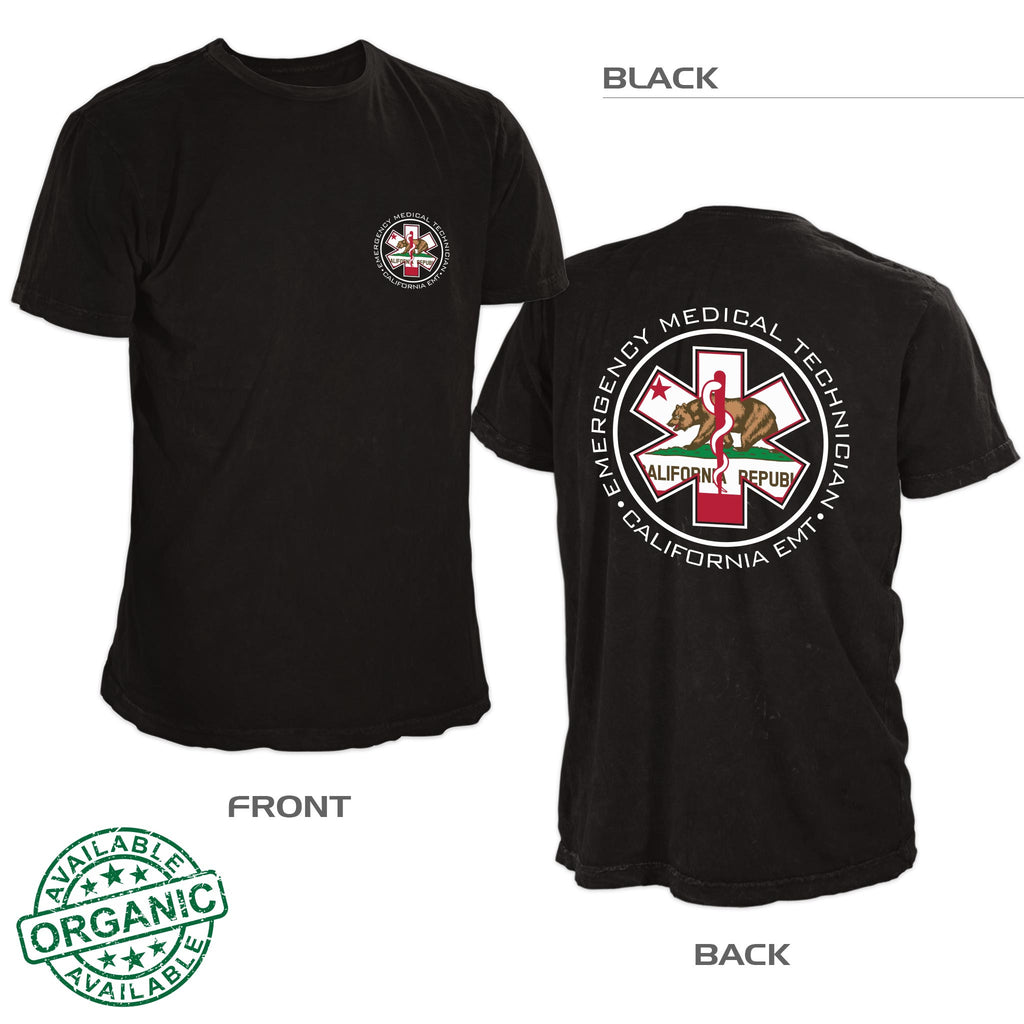 California EMT Shirt — Black
