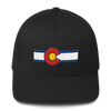 Colorado Flag Hat Black