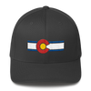 Colorado Flag Hat Dark Gray