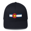 Colorado Flag Hat Dark Navy