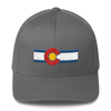 Colorado Flag Hat Gray