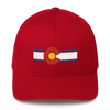 Colorado Flag Hat Red