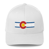 Colorado Flag Hat White