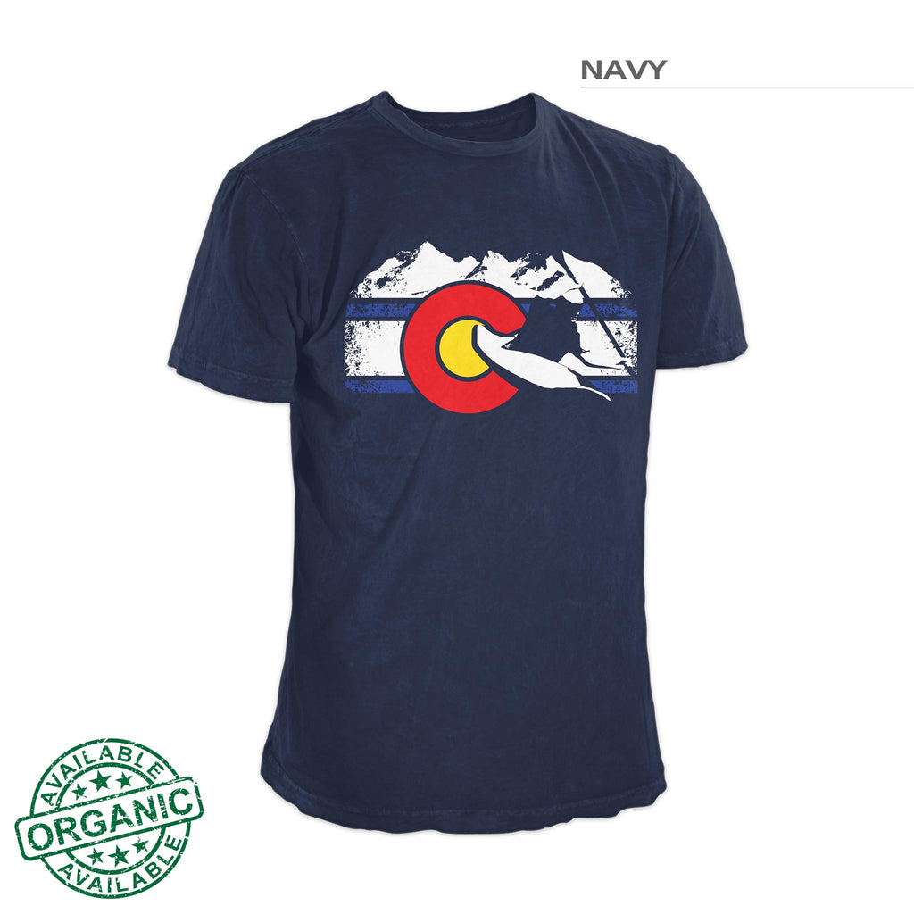 Colorado Whitewater Kayaking Shirt – Navy Blue
