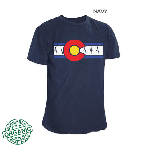 Colorado Flag Shirt – Heartbeat
