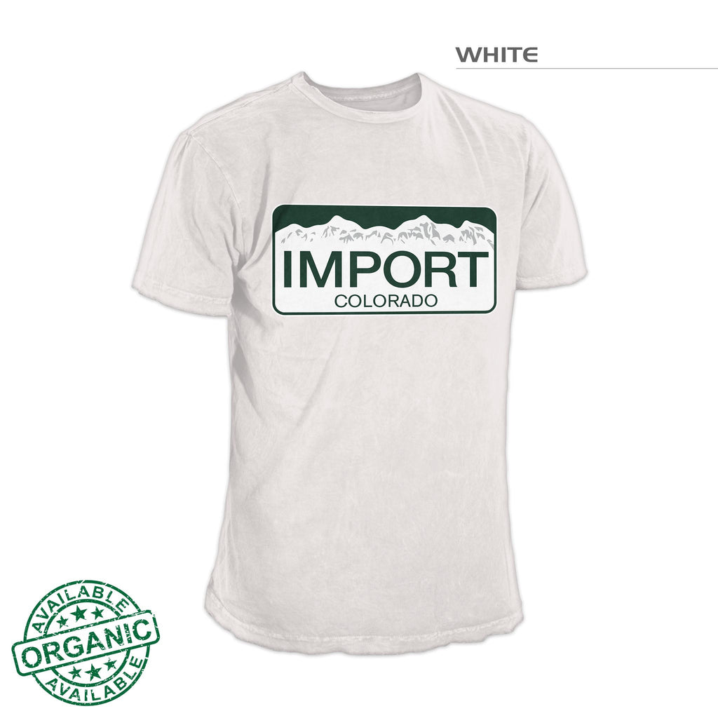 Colorado Import Shirt – White