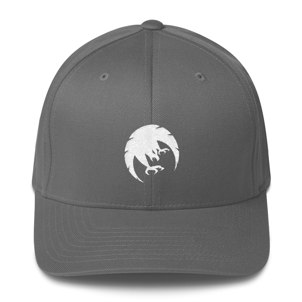 Fearless State Logo Hat Gray