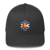Colorado Flag Medic Hat Dark Gray