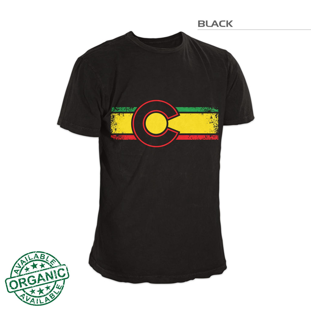 Colorado Flaage Reggae Shirt – Black