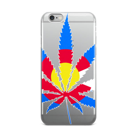 Colorado Marijuana iPhone Case