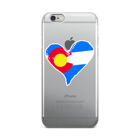 Colorado Heart iPhone Case