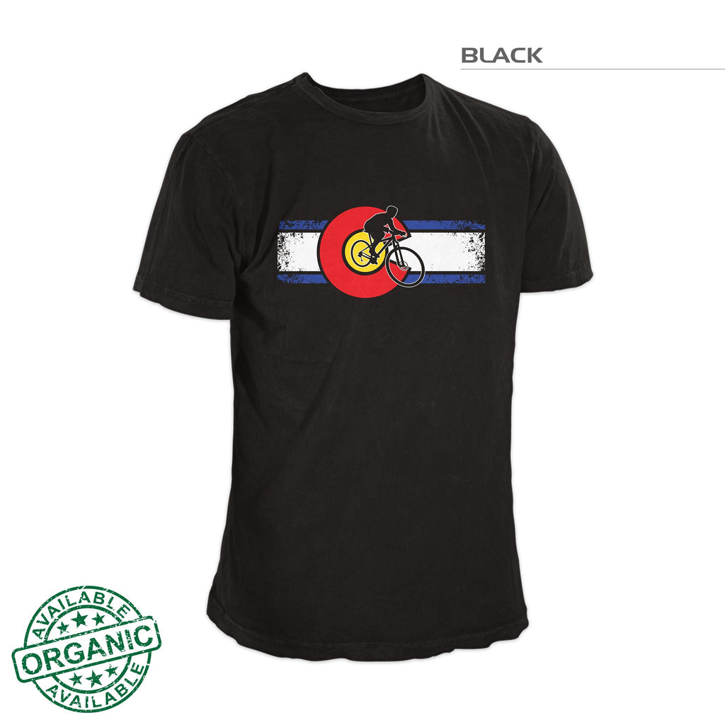 Colorado Flag Bike Shirt – Black