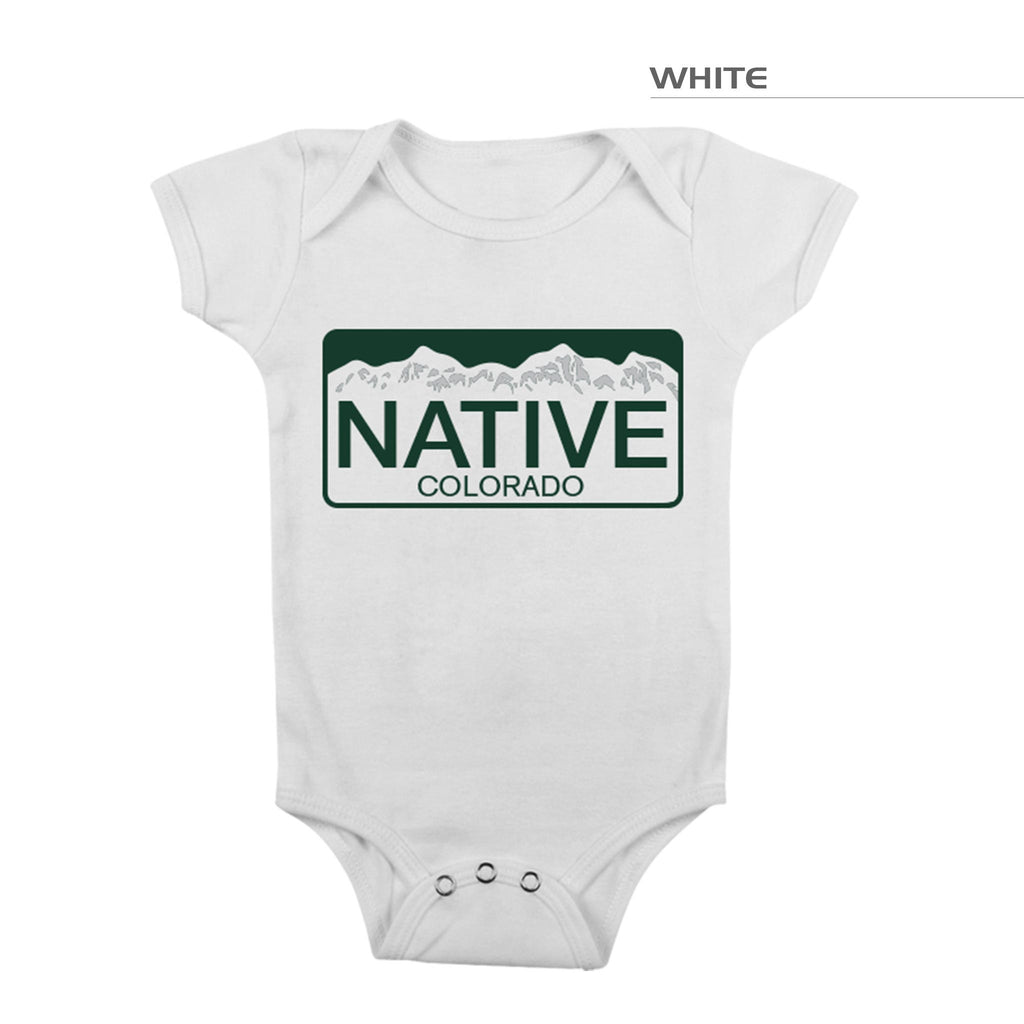 Colorado Native Onesie White